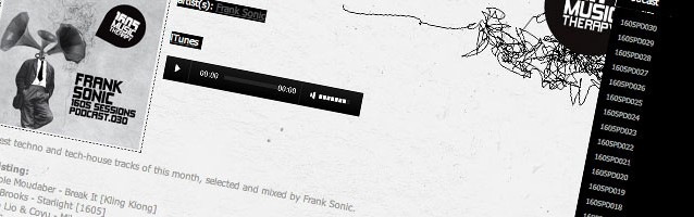 Frank Sonic mit Podcast auf Umeks Label 1605