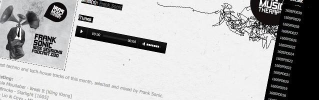 Frank Sonic mit Podcast auf Umeks Label 1605